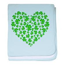 Irish Heart baby blanket