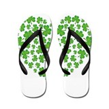 Irish Heart Flip Flops