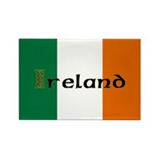 Irish Flag / Eire Rectangle Magnet