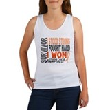 Survivor 4 Uterine Cancer Women's Tank Top