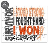 Survivor 4 Uterine Cancer Puzzle