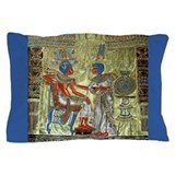 Tutankhamons Throne Pillow Case