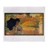 Camille Monet in the Garden, Monet, Stadium Blank