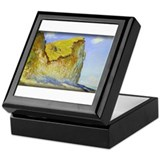 Cliffs near Pourville, Monet, Keepsake Box
