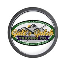 Galt's Gulch Trading Co. Wall Clock