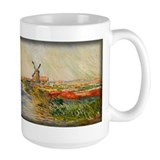 Field of Tulips in Holland, Monet, Mug