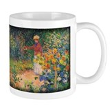 Monet Painting, In the Garden, 1895, Coffee Mug