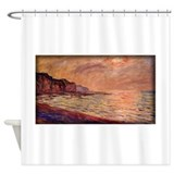 La Plage Pourville Soleil Couchant, Monet, Shower