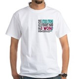 Survivor 4 Thyroid Cancer Shirts and Gifts Shirt