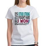 Survivor 4 Thyroid Cancer Shirts and Gifts Tee