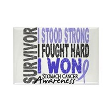 Survivor 4 Stomach Cancer Shirts and Gifts Rectang