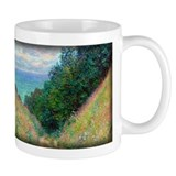 Path at La Cavee, Pourville, Monet, Mug