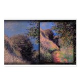 Monet Painting, Path at Pourville, Postcards (Pack