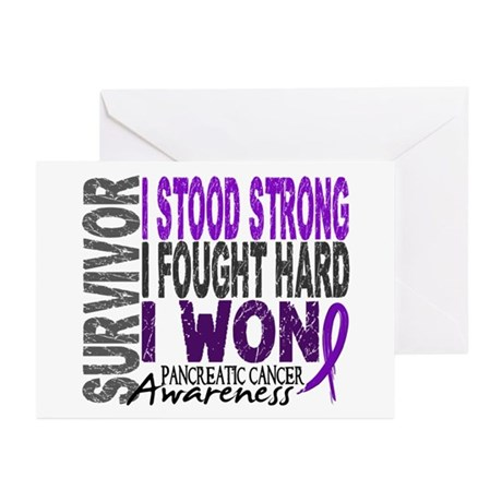 Survivor 4 Pancreatic Cancer Shirts and Gifts Gree