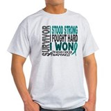 Survivor 4 Ovarian Cancer Shirts and Gifts T-Shirt