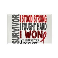 Survivor 4 Heart Attack Shirts and Gifts Rectangle