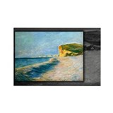 Pourville, near Dieppe, Monet, Rectangle Magnet