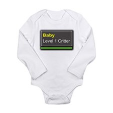 Cute Wow baby Long Sleeve Infant Bodysuit