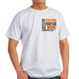Survivor 4 Kidney Cancer Shirts and Gifts T-Shirt