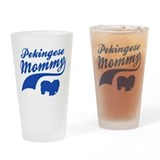 Pekingese Mommy Drinking Glass