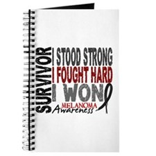 Survivor 4 Melanoma Shirts and Gifts Journal
