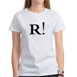 R! Talk Like a Pirate! Women's T-Shirt