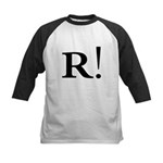 R! Talk Like a Pirate! Kids Baseball Jersey