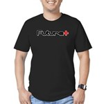 Positive Future Men's Fitted T-Shirt (dark)