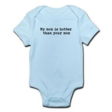 Cute My mom hot Infant Bodysuit