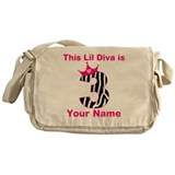 3rd Birthday Diva Messenger Bag