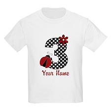 3rd Birthday Ladybug T-Shirt