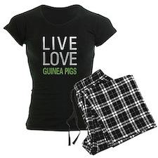 Live Love Guinea Pigs pajamas