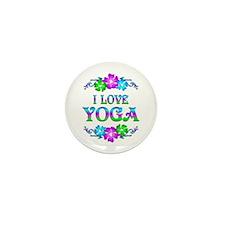 Yoga Love Mini Button (10 pack)