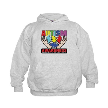 Autism Piece of the Cure Kids Hoodie