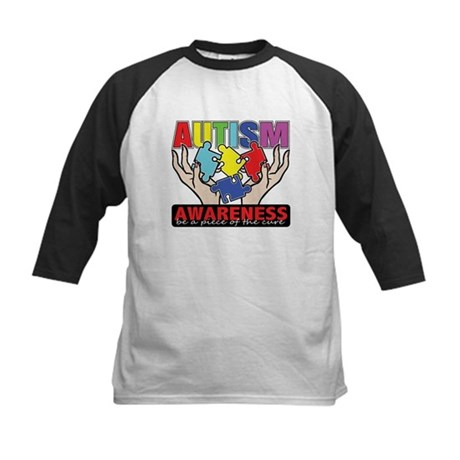 Autism Piece of the Cure Kids Baseball Jersey