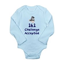 26.2 Challenge Accepted Long Sleeve Infant Bodysui