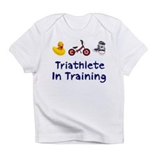 Triathlete in Training Infant T-Shirt