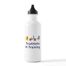 Triathlete in Training Water Bottle