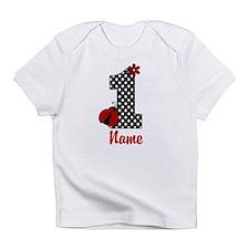 1st Birthday Ladybug Infant T-Shirt