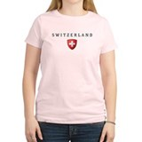 Cute Flag of switzerland T-Shirt