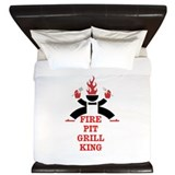 Funny Food and drink King Duvet