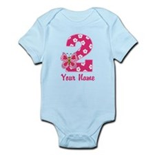 2nd Birthday Butterfly Infant Bodysuit