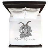 Goat Gramps King Duvet