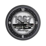 1967 Mustang Fastback Wall Clock