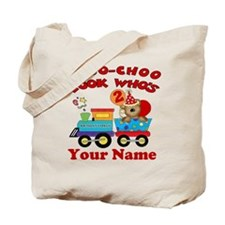 2nd Birthday Train Tote Bag