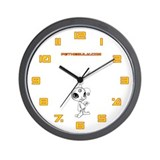 White N.E.L.F Wall Clock