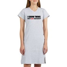 I grow twins Women's Nightshirt