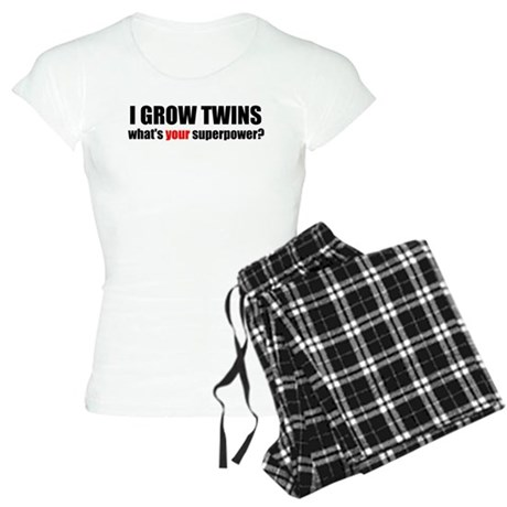 I grow twins Women's Light Pajamas