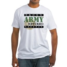 Proud Army Retired Shirt