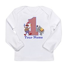 First Birthday Circus Long Sleeve Infant T-Shirt